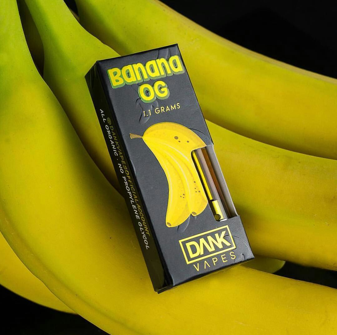 banana og dank vapes cartridges