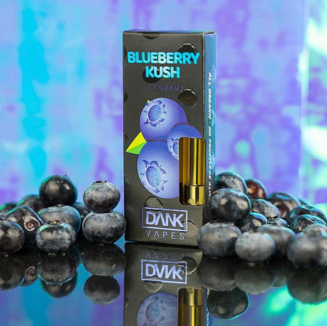 blueberry kush dank vapes